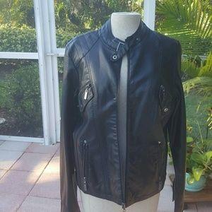Jou Jou Jackets & Coats - JOUJOU Vegan Leather Ladies Jacket